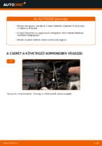 MERCEDES-BENZ VITO Fékbetét készlet cseréje : ingyenes pdf