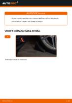 Kā nomainīt priekšējās neatkarīgās balstiekārtas apakšējo sviru MERCEDES-BENZ E W210
