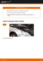 Automehāniķu ieteikumi MERCEDES-BENZ Mercedes W203 C 180 1.8 Kompressor (203.046) Bremžu suports nomaiņai