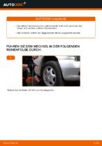 Auswechseln Dreieckslenker MERCEDES-BENZ VITO: PDF kostenlos