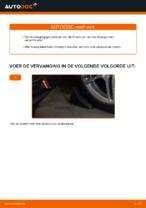 Wanneer Draagarm wielophanging MERCEDES-BENZ E-CLASS (W210) veranderen: pdf tutorial