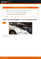 Workshop manual for MERCEDES-BENZ C-Class online