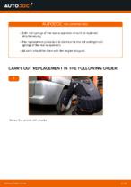 Replacing Suspension springs MERCEDES-BENZ VITO: free pdf