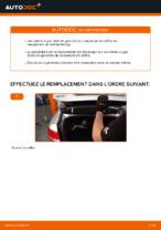 Instructions gratuites en ligne sur comment rénover Ressort pneumatique de coffre AUDI A6 (4F2, C6)
