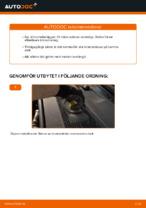 bak och fram Bromsbelägg AUDI A6 | PDF instruktioner för utbyte