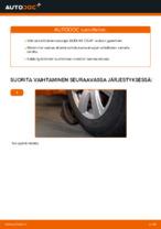 AUDI A6 Tanko kallistuksenvaimennin vaihto : käsikirja verkossa