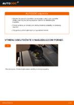 Ako vymeniť zadné brzdové platničky kotúčovej brzdy na Audi A6 C6_4F