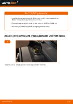 Zamenjavo Zavorne Ploščice AUDI A6: navodila za uporabo