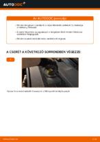 Audi A6 C6_4F tárcsafék hátsó fékbetét csere