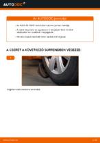 A Összekötőrúd cseréjének barkácsolási útmutatója a AUDI A6 -on
