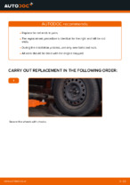 How to replace tie rod ends on RENAULT CLIO II (BB_, CB_)