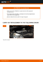 Step by step PDF-tutorial on RENAULT CLIO Shock Absorber replacement