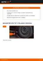 Laga Yttre styrled: pdf instruktioner för RENAULT CLIO