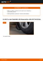 Kuinka vaihtaa itsenäisen jousituksen etupuolen alatukivarsi Audi A6 C6_4F malliin