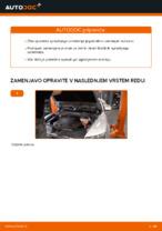 Navodila za vzdrževanje AUDI pdf
