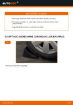 Samm-sammuline PDF-juhend AUDI A6 (4F2, C6) Stabilisaatori otsavarras asendamise kohta