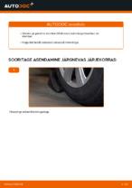 Automehaaniku soovitused, selleks et vahetada välja AUDI Audi A6 4f2 2.0 TDI Piduriketas