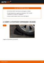 Lépésről-lépésre PDF-útmutató - AUDI A6 Összekötőrúd csere