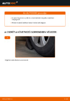 Útmutató: Audi A6 C6_4F független első felfüggesztés alsó lengőkar csere