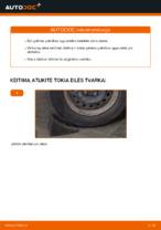 PDF Instrukcija remonto auto dalys: CLIO II (BB0/1/2_, CB0/1/2_)