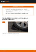 Wie der Austausch der hinteren Druckstangen beim Audi A6 C6_4F funktioniert