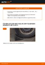 PDF Reparatur Tutorial von Ersatzteile: CLIO II (BB0/1/2_, CB0/1/2_)