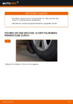 Wie Sie den Unterarm der vorderen Einzelradaufhängung am Audi A6 C6_4F ersetzen