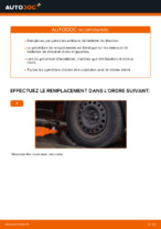 Remplacement Embout biellette de direction RENAULT CLIO : instructions pdf
