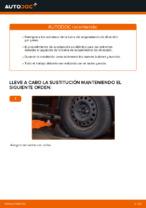 Reemplazar Rótula barra de acoplamiento RENAULT CLIO: pdf gratis