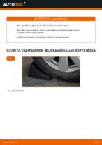 AUDI A6 Pyöränlaakerisarja vaihto : käsikirja verkossa