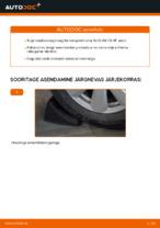 Automehaaniku soovitused, selleks et vahetada välja AUDI Audi A6 4f2 2.0 TDI Piduriklotsid