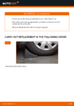 DIY manual on replacing Wheel bearing kit FORD FIESTA V (JH_, JD_)