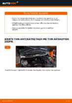 Βήμα-βήμα PDF οδηγιών για να αλλάξετε Τακάκια Φρένων σε MINI MINI (R50, R53)
