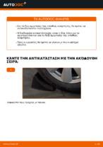 Αλλαγή Αμορτισέρ AUDI A6: εγχειριδιο χρησης