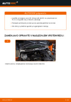 Zamenjavo Zavorne Ploščice: pdf navodila za MINI MINI