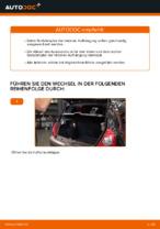 Wie Sie die hintere Aufhängung der Stoßdämpfer am RENAULT CLIO II (BB_, CB_) ersetzen