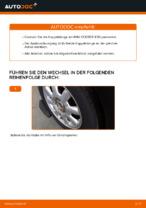 Stabilisator Koppelstange hinten und vorne auswechseln: Online-Handbuch für MINI MINI