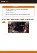Comment remplacer les amortisseurs de suspension arrière sur une RENAULT CLIO II (BB_, CB_)