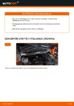 PDF guide för byta: Bromsklossar MINI bak och fram