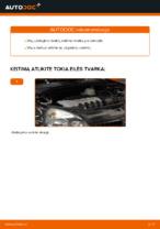 Automechanikų rekomendacijos RENAULT Renault Clio 2 1.2 16V Vikšro Valdymo Svirtis keitimui