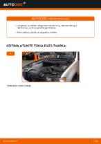Automechanikų rekomendacijos BMW BMW E53 3.0 i Vikšro Valdymo Svirtis keitimui