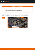 Hvordan man skifter tændspole på OPEL ASTRA G (T98, F08, F48)