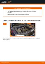 DIY manual on replacing Ignition Coil OPEL ASTRA G Hatchback (F48_, F08_)