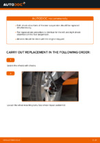 Step-by-step repair guide for TOYOTA LAND CRUISER