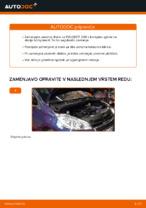 Avtomehanična priporočil za zamenjavo PEUGEOT Peugeot 208 1 1.2 Blazilnik