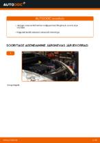 PEUGEOT - remondi käsiraamatud koos illustratsioonidega