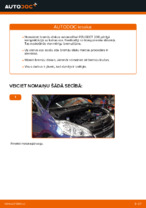 Automehāniķu ieteikumi PEUGEOT Peugeot 208 1 1.2 Salona filtrs nomaiņai