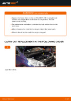 PDF Repair tutorial of car spares: PEUGEOT 207 (WA_, WC_)