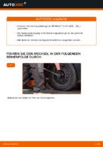Wann Koppelstange Stabilisator austauschen: PDF Anleitung für RENAULT CLIO II (BB0/1/2_, CB0/1/2_)