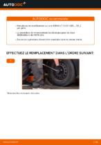 Changement Biellette De Barre Stabilisatrice RENAULT CLIO : manuel d'atelier